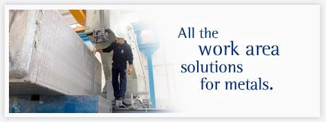 Tutte le soluzioni per la lavorazione dei metalli